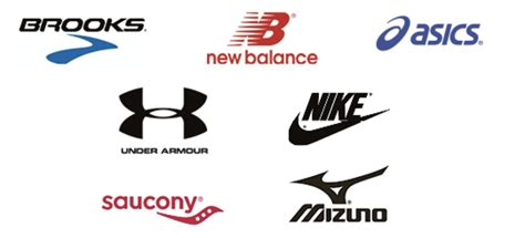 athletic shoe company logos running shoe logos www imgkid the image kid has it