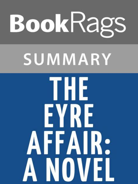 The Eyre Affair 1 the eyre affair a novel by jasper fforde l summary study guide by bookrags nook book ebook