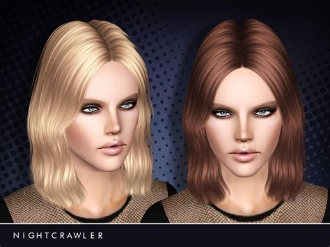 sims 3 resource hair nightcrawler sims nightcrawler female hair14