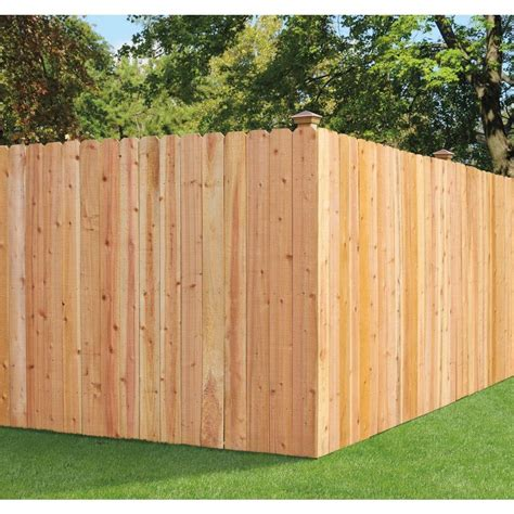 ear fence fence installation at the home depot
