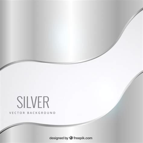 Silver Layout Vector | silver background vector free download