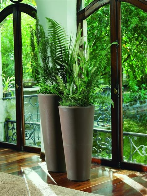 Planters Miami by Bleeker Planters Modern Indoor Pots And Planters