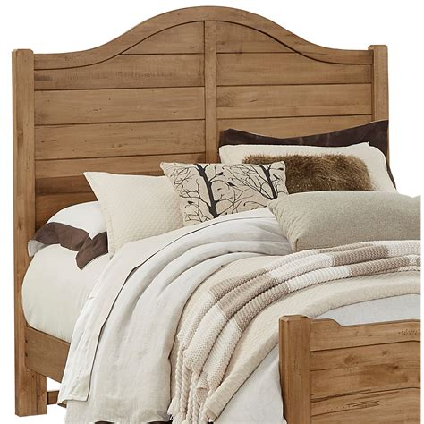 wood queen headboards vaughan bassett american maple solid wood queen shiplap