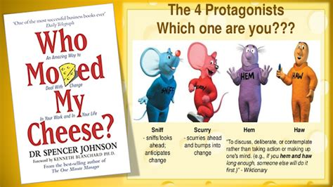 who moved my cheese 0091883768 summary quot who moved my cheese quot by spencer johnson