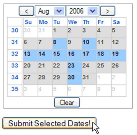 Epoch Calendar Epoch Prime Javasscript Calendar