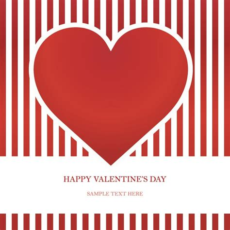 happy valentines day card templates free vector happy s day invitation card