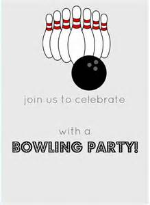 bowling invitation template 15 outstanding bowling invitation templates designs