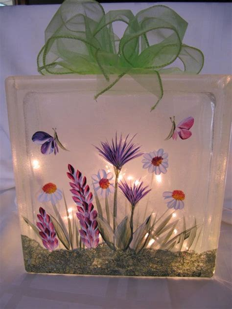 How To Decorate Glass Blocks by Decorate Home With Glass Paintings Decozilla