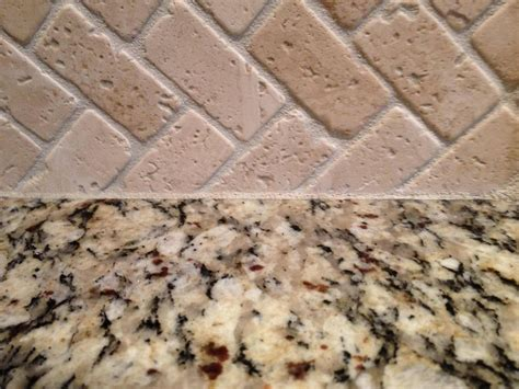 caulking kitchen backsplash kitchen counters how to caulk backsplash to granite countertop home improvement stack