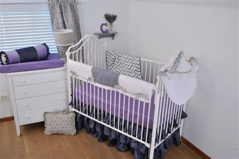 Purple Chevron Crib Bedding by 27 Best Images About Purple Chevron Crib Bedding On