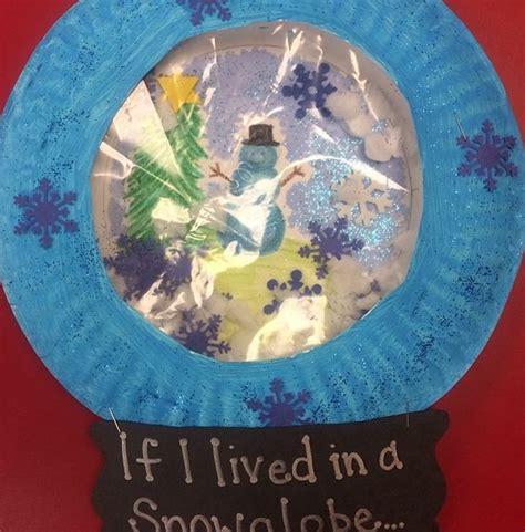snow globe craft for snow globe craft teaching