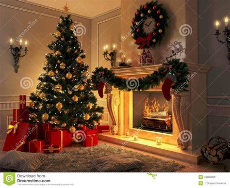 Weihnachtsdeko Fensterbank Englisch by Interior Con El 225 Rbol De Navidad Los Presentes Y La