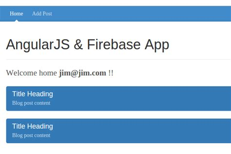 firebase query tutorial creating a web app from scratch using angularjs and