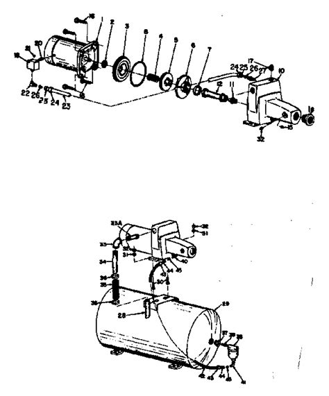 well parts diagram craftsman shallow well parts craftsman tractor