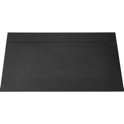 White Leather Desk Pad This Whole Collection Black White Desk Mat