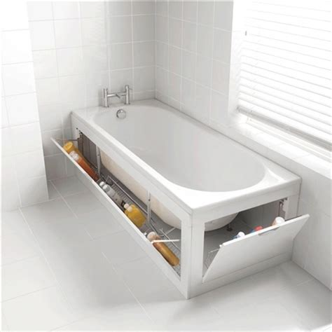 here s how to use bathroom storage without a mess
