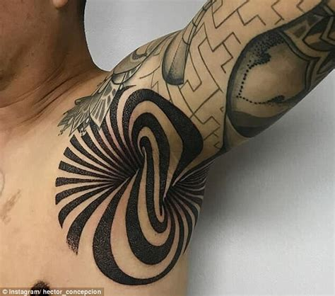 tattoo under armpit new armpit tattoo trend for tattoo goers hits a sensible