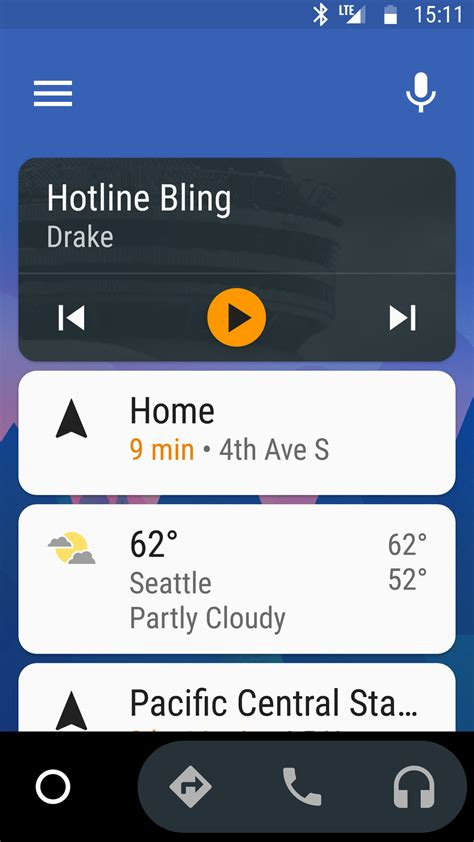 Auto Screen by Android Auto Now Runs Directly On Your Phone Marking