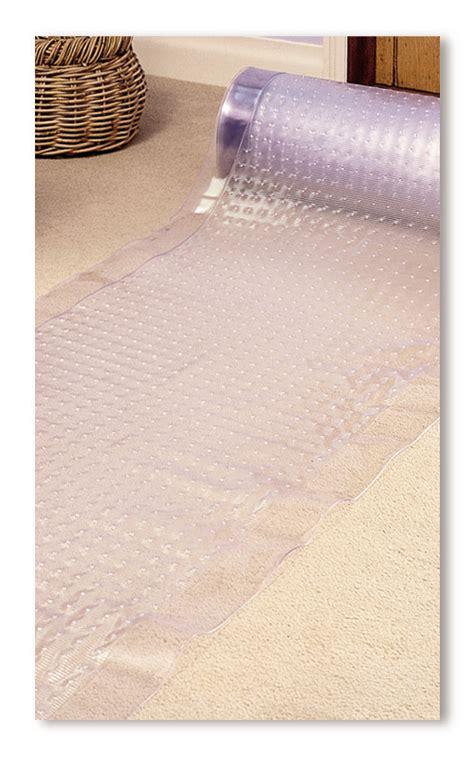Plastic Floor Runners by Heavy Duty 183cm X 69cm Clear Vinyl Carpet Floor Protector