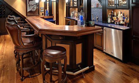 Wood Bar Countertop Ideas by Walnut Wood Bar Top Traditional Kitchen Countertops