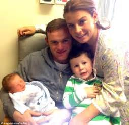 Wayne Rooney second child Klay is born   Daily Mail Online