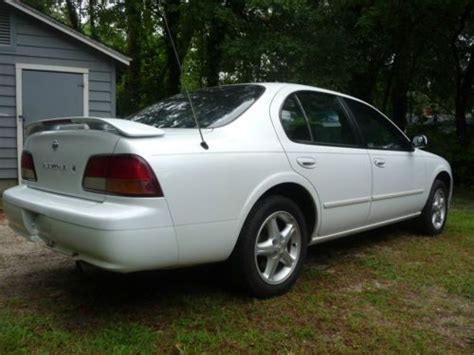 how to sell used cars 1997 nissan maxima transmission control sell used 1997 nissan maxima se sedan 4 door 3 0l in thomasville georgia united states for us