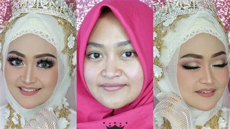 Tutorial Makeup Wedding Muslim | tutorial makeup wedding muslim tanpa cukur alis