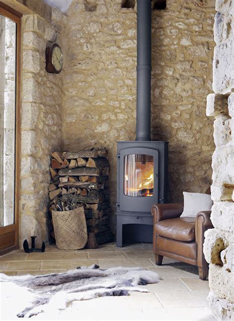 wood stove vs open fireplace the style files