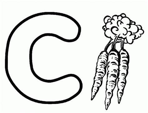 Carrot Coloring Page Az Coloring Pages Carrot Coloring Page