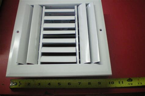 Ceiling Air Register by White Air Vent Register Grille 7 5 8 Quot X 7 5 8 Quot New Ceiling