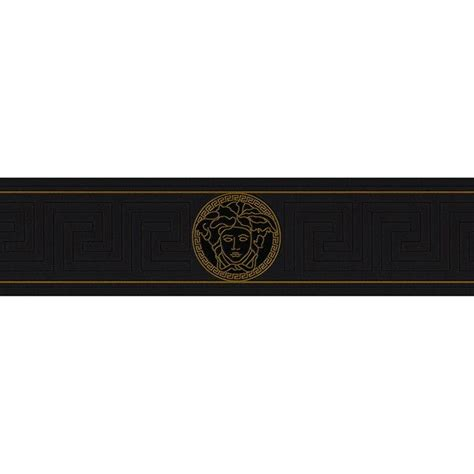 versace home decor versace wallpaper black gold 93522 4b 71 liked on polyvore featuring home home