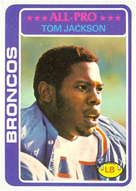 tom jackson football 1978 topps tom jackson 240 football card value price guide