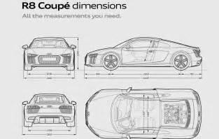 new car dimensions audi r8 coup 233 audi uk