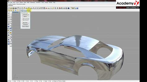 tutorial video rhino mc neel rhinoceros car modeling tutorial part 30 youtube