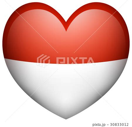 icon design indonesia icon design for indonesia flagのイラスト素材 30833012 pixta
