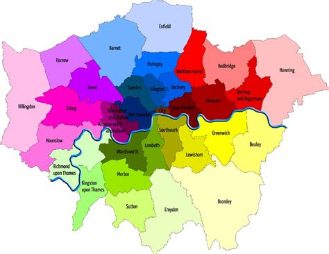 london sections map image gallery london neighborhood guide