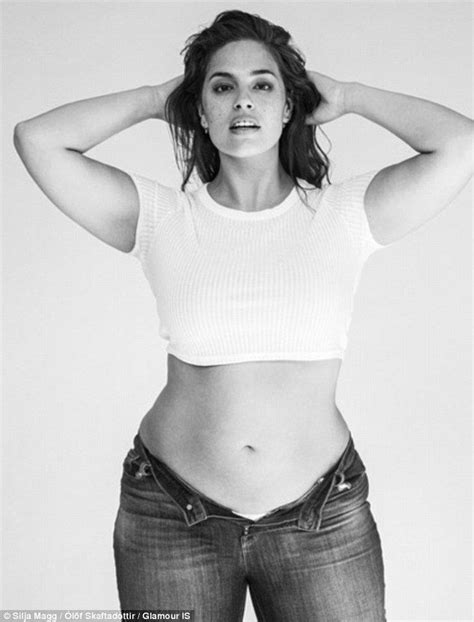 glamour models body measurements ashley graham in shoot to promote body diversity for