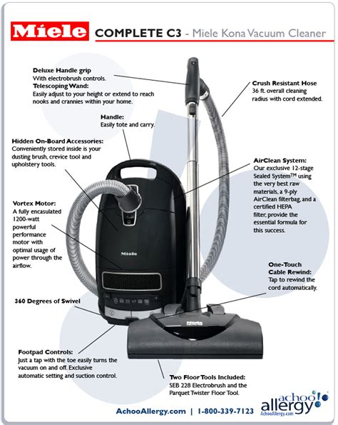 Vaccum Means miele complete c3 kona canister vacuum free shipping today