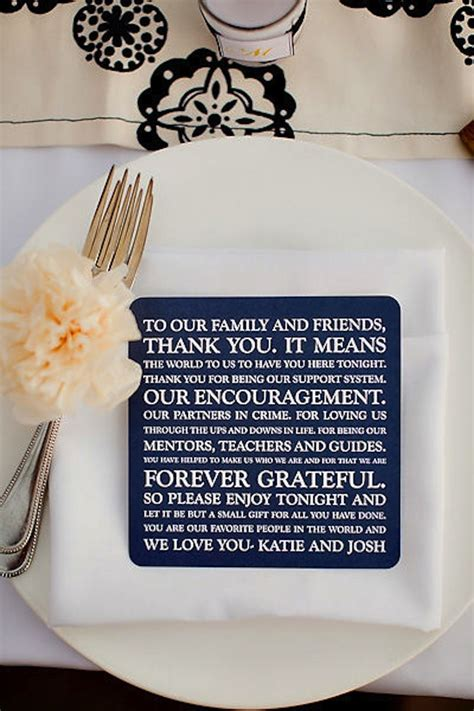 how to say thank you for a wedding gift thank you note for guests at wedding reception onewed