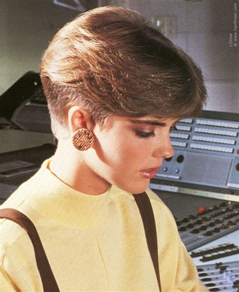 haircuts hairstyles 1980s short nape haircut inspired by the pageboy