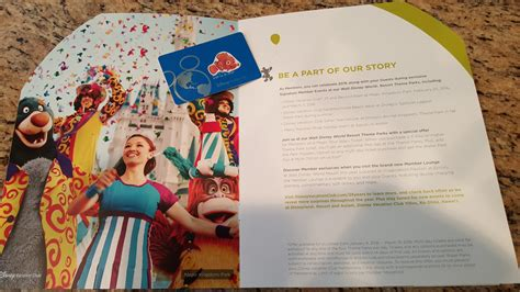 Disney Vacation Club Silver Anniversary Sweepstakes - disney is mailing out new dvc member cards