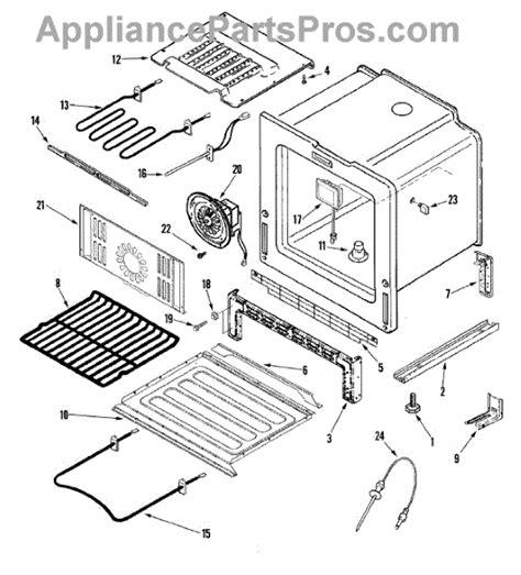 jenn air oven parts diagram parts for jenn air jes9900baf oven base parts