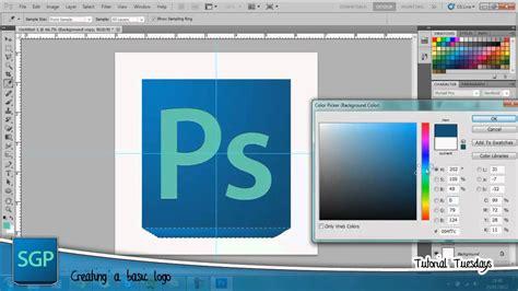 tutorial photoshop cs5 logo tutorial tuesdays creating a simple logo in photoshop cs5
