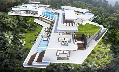Global House Plans by Stunning Modern Hollywood Hills Home Featured On Leverage