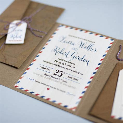 not on the high wedding invitation st lomond wedding invitation by paper co notonthehighstreet