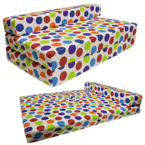 polka dot futon cover gilda double sofabed spotty cotton fold out chair bed