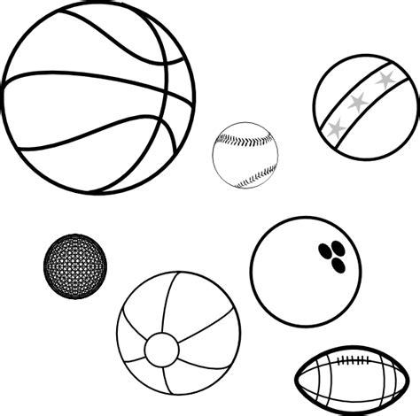 Coloring Book Balls Clip Art At Clker Com Vector Clip Free Balls Coloring Pages