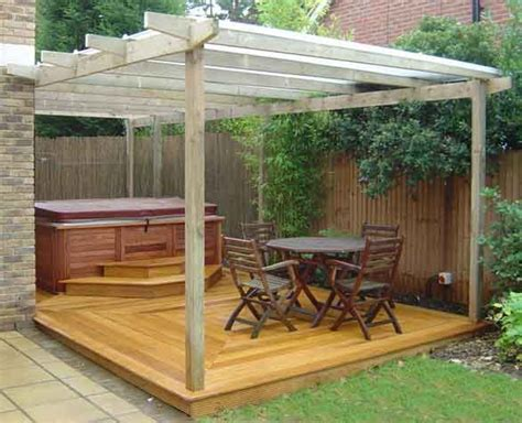 hot tub pergola design ideas outdoor living spaces