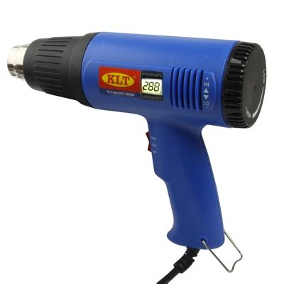 Electric Heat Gun With Adjustable Temperature 1600w 1600w electronic heat gun with lcd display cool air adjustable temperature alex nld