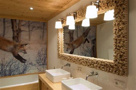 wooden house bathroom wooden house in chalet style with fairy tale scenes home interior design kitchen